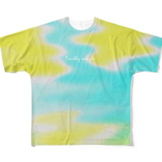 もしかしたら Full graphic T-shirts