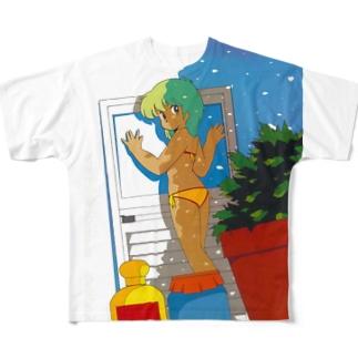 1984 先輩女子 Full graphic T-shirts