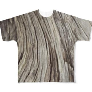 木片 Full graphic T-shirts