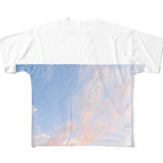 夕焼けの想い出その4 Full graphic T-shirts