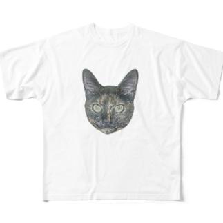 チャコちゃん Full graphic T-shirts