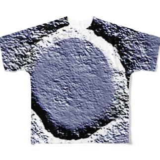 クレーターのつもり Full graphic T-shirts