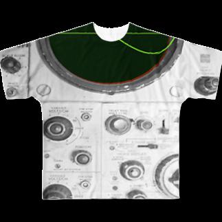 アズペイントの測定器 Full graphic T-shirts