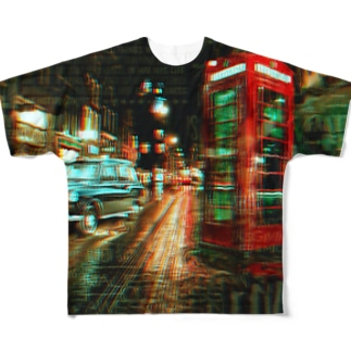 #street Full graphic T-shirts