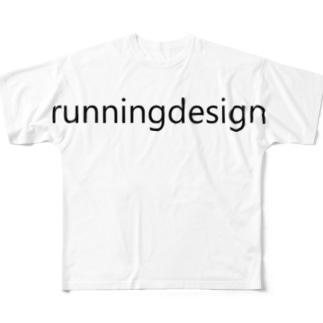 nrunningdesignアイテム Full graphic T-shirts