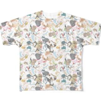 超密エキゾ2020夏 Full graphic T-shirts