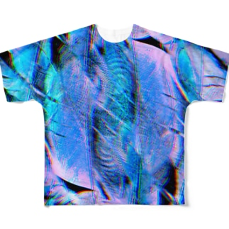 #G-feather Full graphic T-shirts