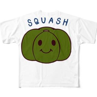 ジェシカセレクション カボチャ Full graphic T-shirts