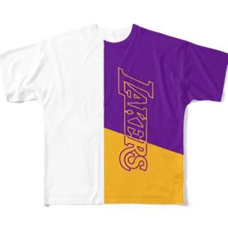 グリ屋のLAL T Full graphic T-shirts