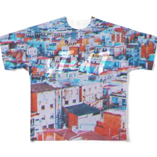 #town Full graphic T-shirts