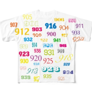 finding 941  Full graphic T-shirts