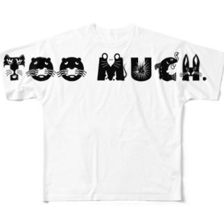 アニマルとぅまっち。 Full graphic T-shirts