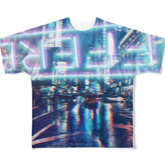 #neonlights Full graphic T-shirts