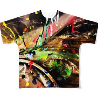 Live Painting Full graphic T-shirts