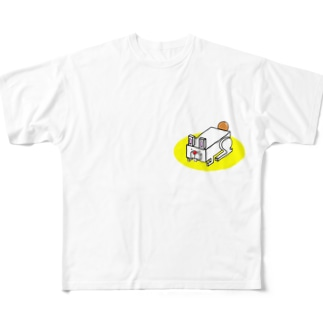 はこうさぎ Full graphic T-shirts