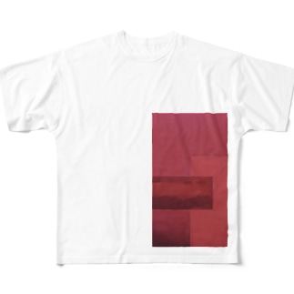 くすみ Full graphic T-shirts