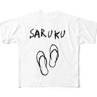 SARUKU Full graphic T-shirts