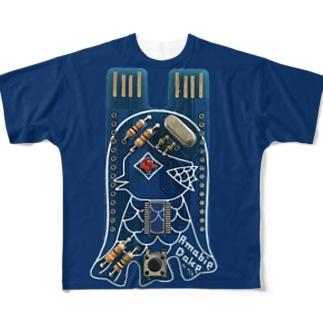AmabieDake Tシャツ Full graphic T-shirts