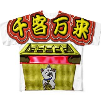 満員御礼 Full graphic T-shirts