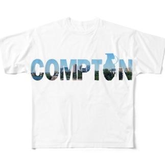 Compton Full graphic T-shirts