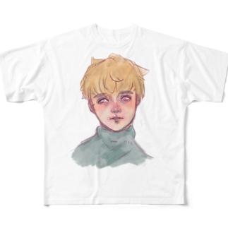 儚げアルフくん Full graphic T-shirts