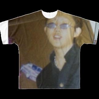 ザアイテム屋DOORSの地肌に学ランの向こう側 Full graphic T-shirts