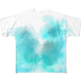 淡夏 series Full graphic T-shirts