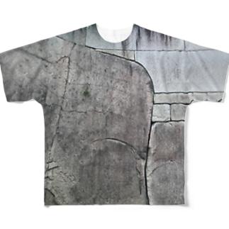 石垣 Full graphic T-shirts