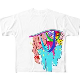 ファンシー☆ハラキリ Full graphic T-shirts