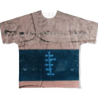 あくぁwdgjっっb Full graphic T-shirts