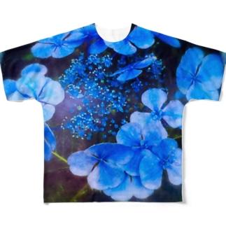アオノオト Full graphic T-shirts