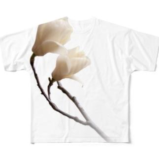 マグノリア Full graphic T-shirts