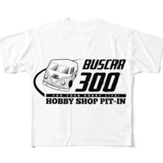 Bot屋のBUSCAR ver2 Full graphic T-shirts