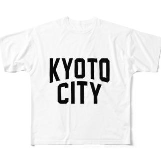 kyoto CITY 京都ファッション アイテム Full graphic T-shirts