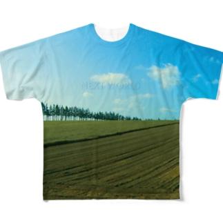 NEXT WORLD Full graphic T-shirts