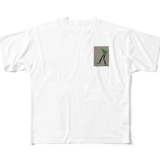 ステルスサンタ Full graphic T-shirts