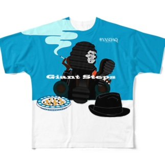 GIANT STEPS Full graphic T-shirts