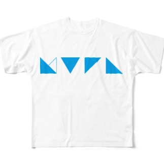 謎記号グッズ Full graphic T-shirts