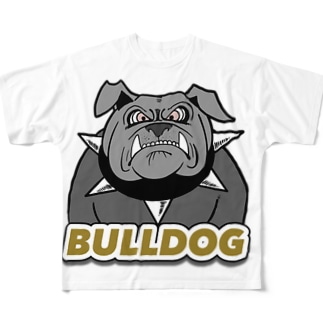 ブルドッグ Full graphic T-shirts