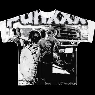 12moonmonstarZのパンク&アメ車 Full graphic T-shirts