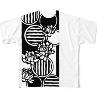 オオオニバス Full graphic T-shirts
