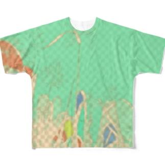 海切の森。 Full graphic T-shirts