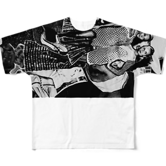 collage2/black3 Full graphic T-shirts