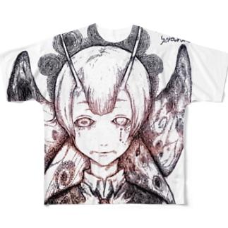 ムゲンノイノチ・カゲロウ Full graphic T-shirts