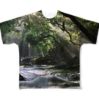 K-SUIGEN002 Full graphic T-shirts