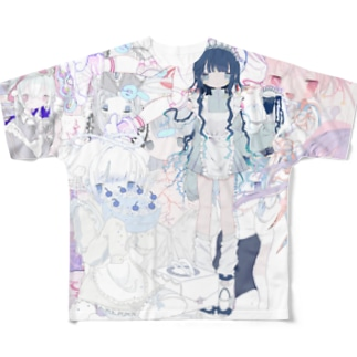 ふわふわ_. Full graphic T-shirts