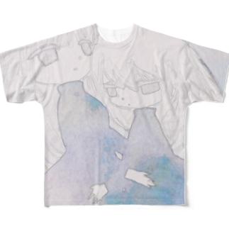 双子 Full graphic T-shirts