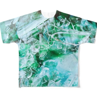 glass woods01 Full graphic T-shirts