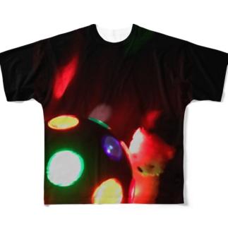 おやすみねんねのディスコボール・くま Full Graphic T-Shirt