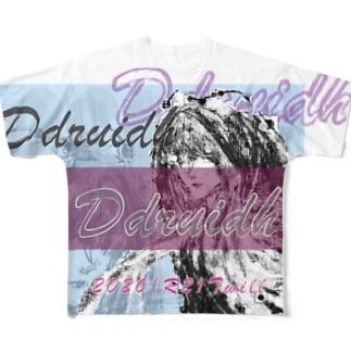 Ddruidh(魔法使い) Full graphic T-shirts